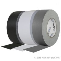 three rolls of gaffers tape